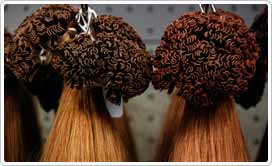 Remy Hair - all of the hair strands are facing the same way, so when you brush you will not be going against the hair cuticle, maintaining a smooth and glossy finish.