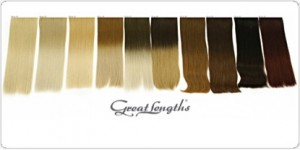 Great Lengths Colour Blocking Strands - available in over 54 different colour!