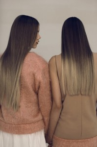 Dramatic Ombre Balayage Hair Colour Extensions